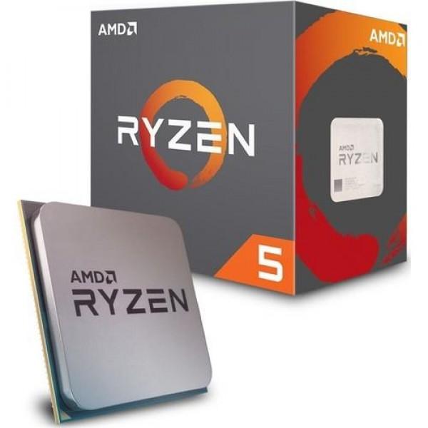 AMD Ryzen 5 2600 3.9GHz 16MB Cache Soket AM4 ...