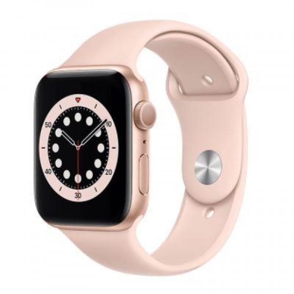 Apple Watch Series 6 GPS 44 mm M00E3TU/A Altı...