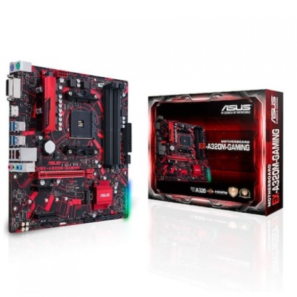 Asus EX-A320M-GAMING AMD A320 3200 MHz DDR4 S...