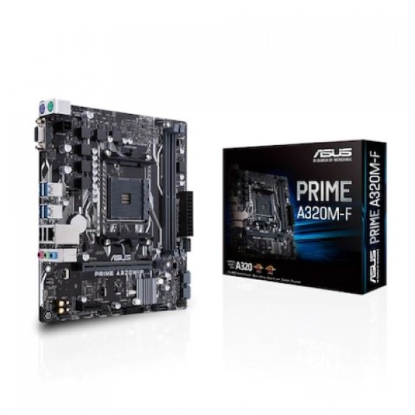 Asus Prime A320M-F AMD A320 3200 MHz DDR4 Sok...