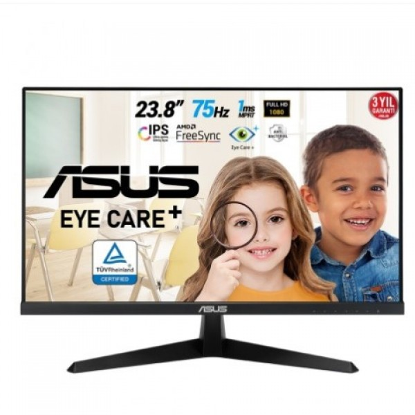 ASUS VY249HE 23.8 inc IPS 1MS 75Hz HDMI FHD G...