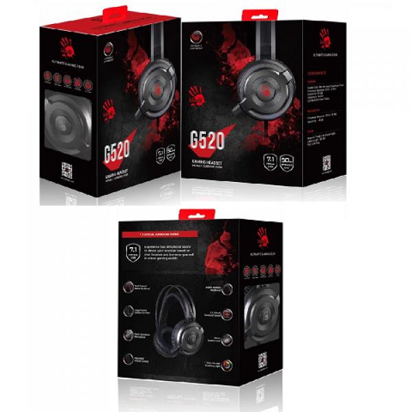 Bloody G520 7.1 Mikrofonlu Oyuncu Kulaklık