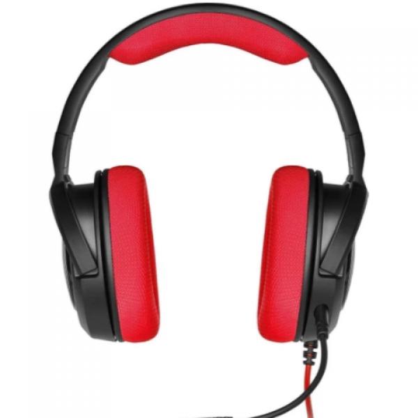 Corsair CA-9011198-EU  HS35 Stereo Kırmızı Oyuncu Kulaklık