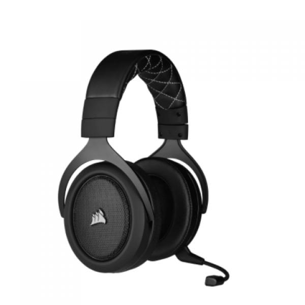 Corsaır CA-9011211-EU HS70 Pro 7.1  Siyah Kablosuz Oyuncu Kulaklığı