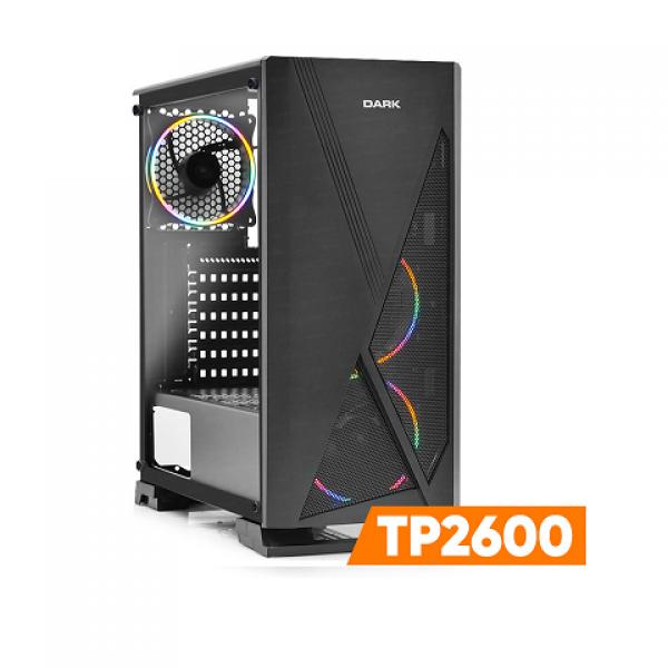 DARK TP2600 Ryzen5 2600 8GB GTX750Ti 4GB 1TB ...