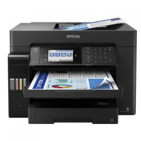 Epson L15160 Tarayıcı Fotokopi Faks Renkli Mü...