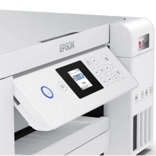 Epson L4266 EcoTank LCD USB Dubleks Wi-Fi Direct Fotokopi Tarayıcı A4 Inkjet Yazıcı