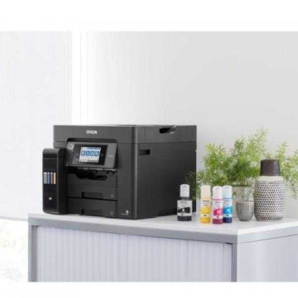Epson L6570 WI-FI Ethernet Dubleks Tarayıcı Fotokopi Faks Renkli Mürekkep Tanklı Yazıcı