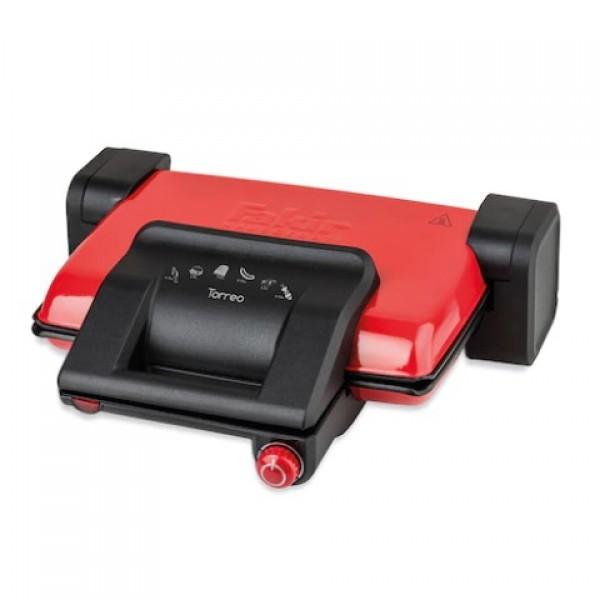 Fakir Torreo Kırmızı 1800 W Tost Makinesi
