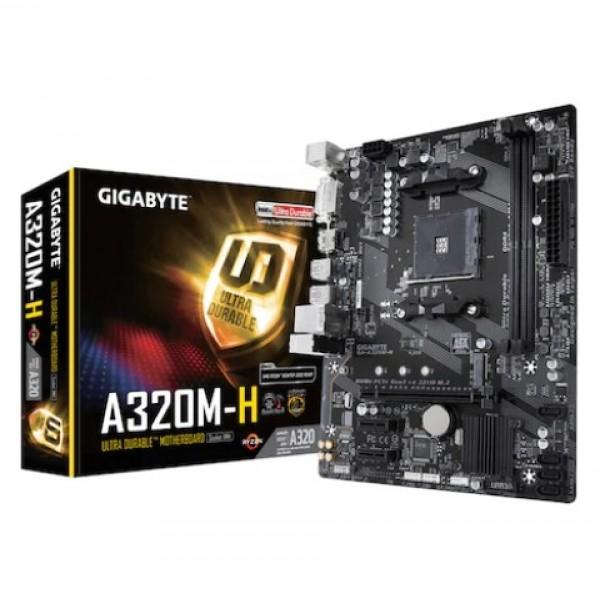 Gigabyte GA-A320M-H A320 2133 MHz DDR4 Soket ...