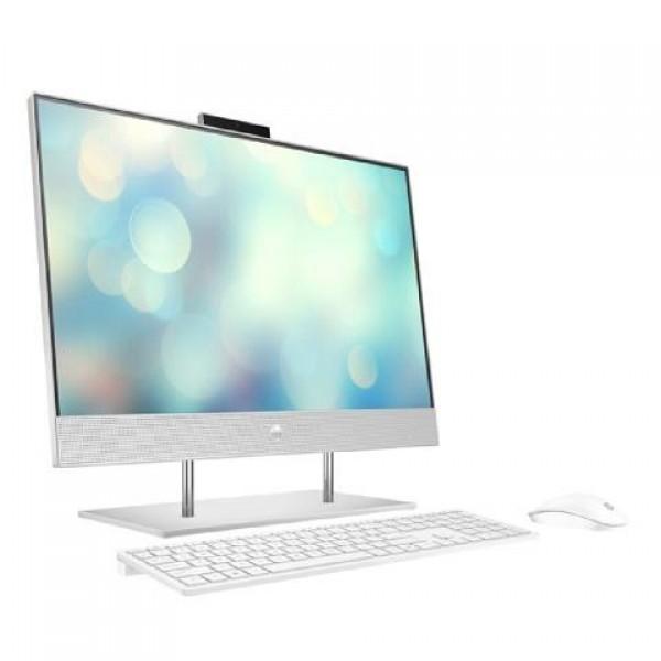 HP AIO 209R1EA 23.8 inc Touch IPS i5-10400 8GB 1TB 256GB SSD 2GB VGA FreeDOS BEYAZ All in One Bilgisayar