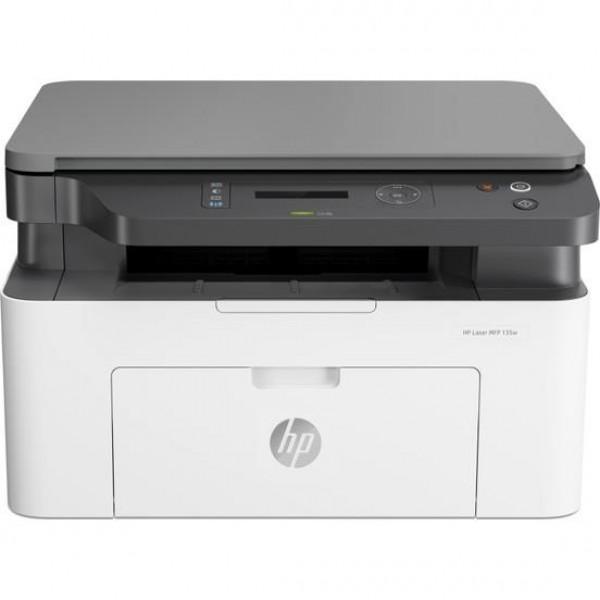HP Laser MFP 135w Mono Yazıcı 4ZB83A