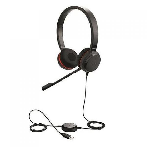 Jabra Evolve 30 II Duo USB MS Kulak Üstü Kula...