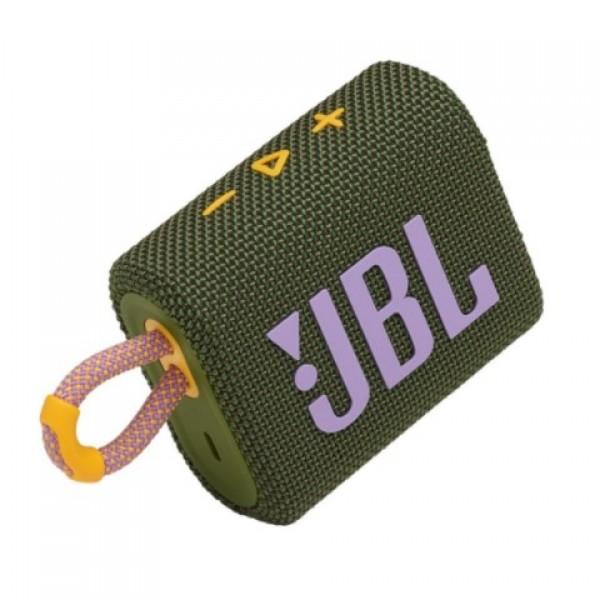 JBL GO 3 Bluetooth Yeşil Taşınabilir Kablosuz...