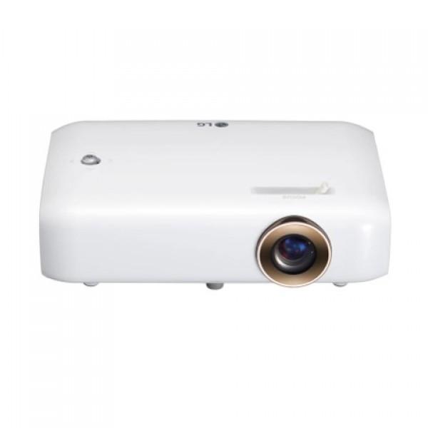 LG PH510PG HD 550 ANSI Dahili Batarya LED Pro...