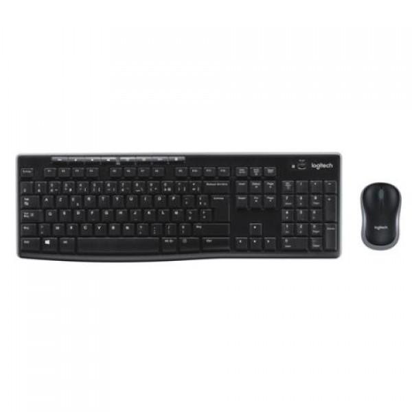 Logitech 920-004525 MK270 Kablosuz Klavye Mou...