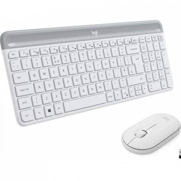 Logitech 920-009436 MK470 Beyaz Kablosuz Klav...