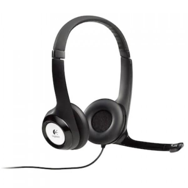 Logitech H390981-000406 Siyah Mikrofonlu Kul...