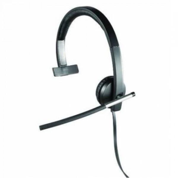 Logitech H650E 981-000514 Usb MONO Kulak Üstü Kulaklık