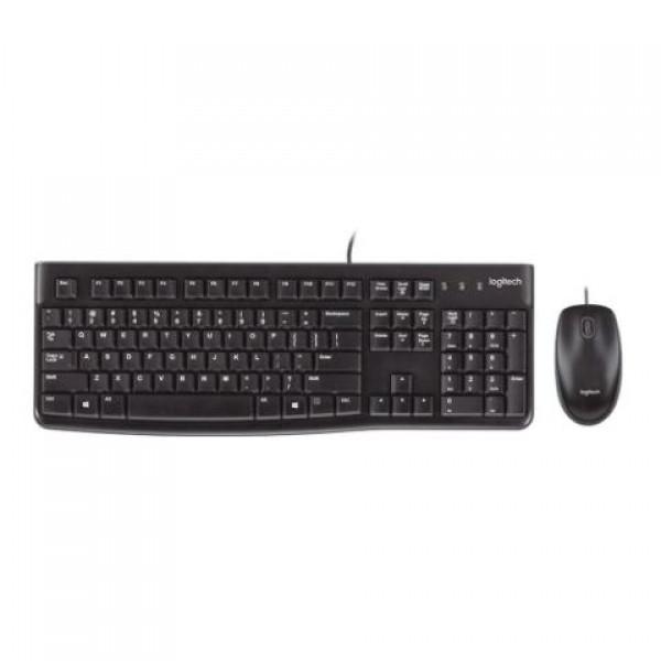 Logitech MK120 920-002560 Q Usb Siyah Klavye ...