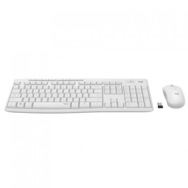 Logitech MK295 920-010089 Silent Beyaz Kablos...