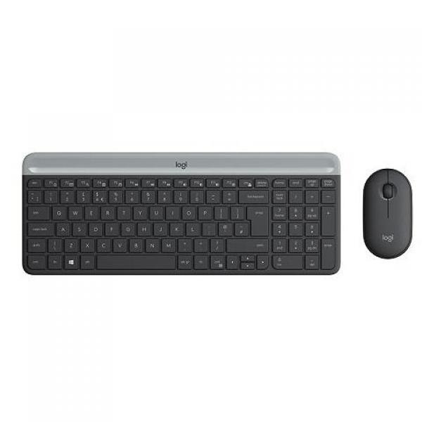 LOGİTECH MK470 Kablosuz Klavye & Mouse Se...