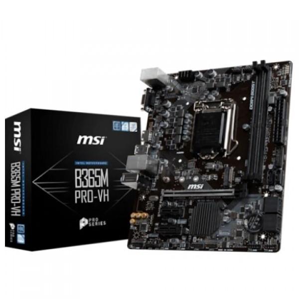 MSI B365M PRO-VH Intel B365 2666 MHz DDR4 LGA...