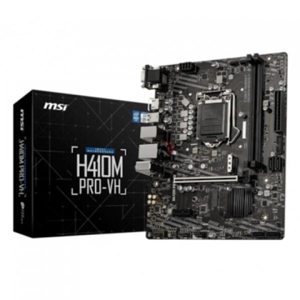 MSI H410M PRO-VH Intel H410 2933 MHz DDR4 LGA...
