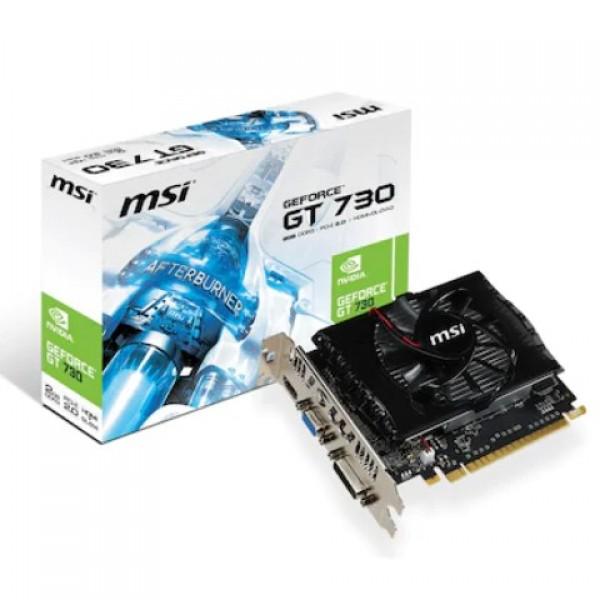 MSI Nvidia GeForce GT730 N730-2GD3V2 2GB DDR3...