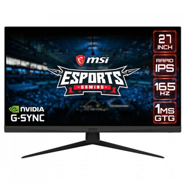 MSI Optix G273QF 27inc 165Hz 1ms (2xHDMI+Disp...