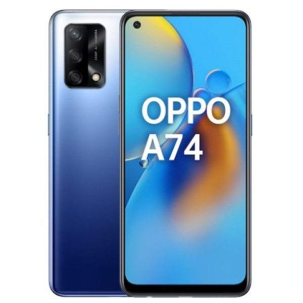 Oppo A74 128 GB Mavi Cep Telefonu - Oppo Türk...