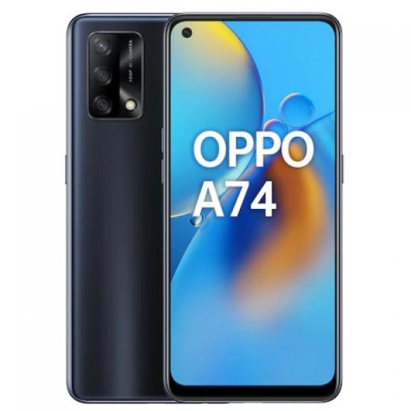 Oppo A74 128 GB Siyah Cep Telefonu - Oppo Tür...