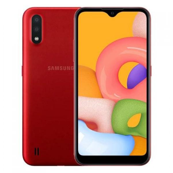 Samsung Galaxy A01 16 GB Kırmızı Cep Telefonu...