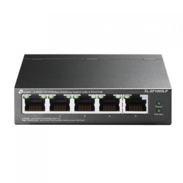 Tp-Link TL-SF1005LP 5 Port 4 Port Poe+ 10/100...