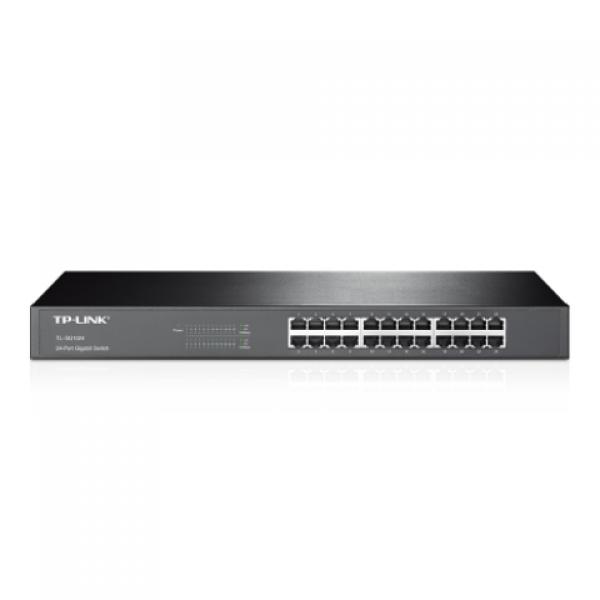 Tp-Link TL-SG1024 24 Port 10/100/1000 Mbps Sw...