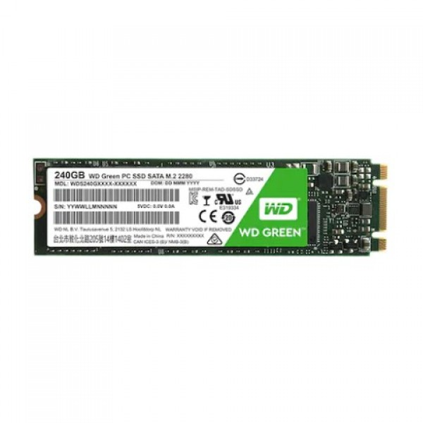 WD Green WDS240G2G0B 240 GB M.2 SATA SSD