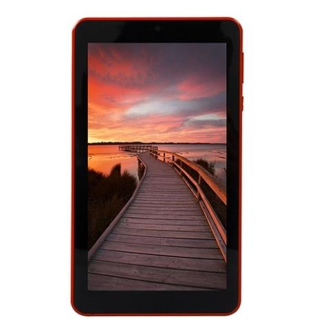 Everest EVERPAD DC-7015 Kırmızı Wifi BT4 Çift Kamera IPS 1GB 16GB Go 7 inc Tablet