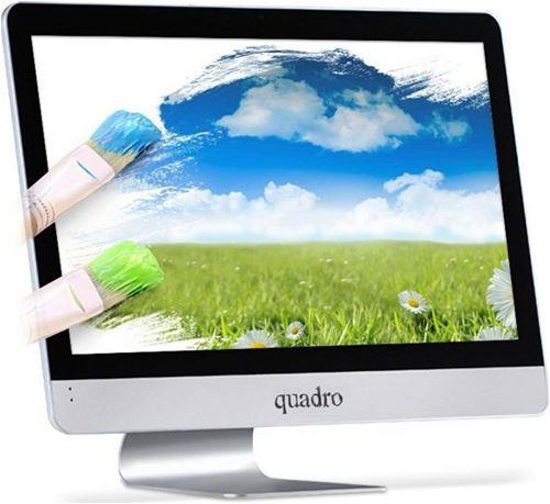 QUADRO RAPID-H8124-49824 i5-4690T 8GB 240GB SSD 23.8 inc Free DOS All in One Bilgisayar