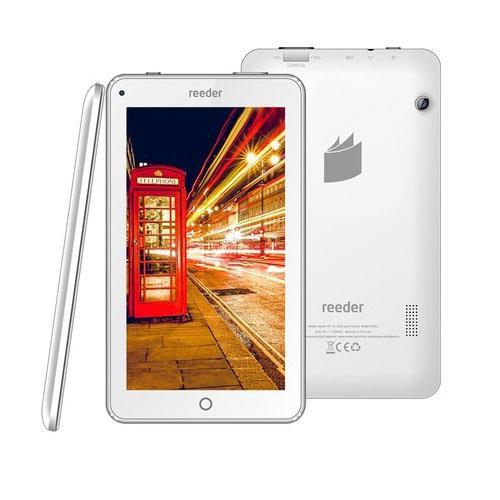 Reeder M7S 8GB 7 inc IPS Wifi + 3G SimKartlı Android 7 Nougat Beyaz Tablet